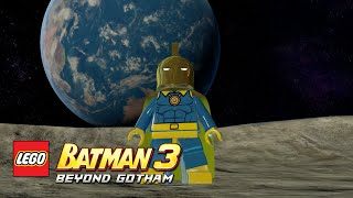 LEGO Batman 3: Beyond Gotham - Doctor Fate Moon Base free roam