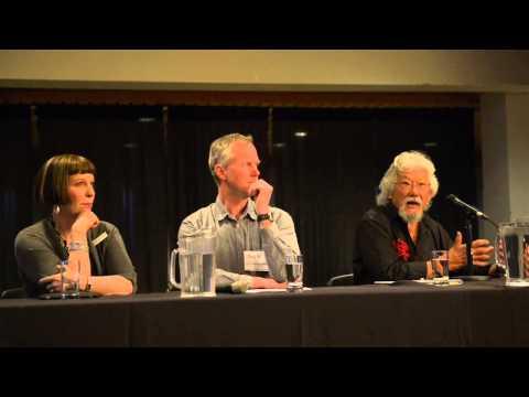 Climate Change in Atlantic Canada in Calgary with David Suzuki and Ian Mauro