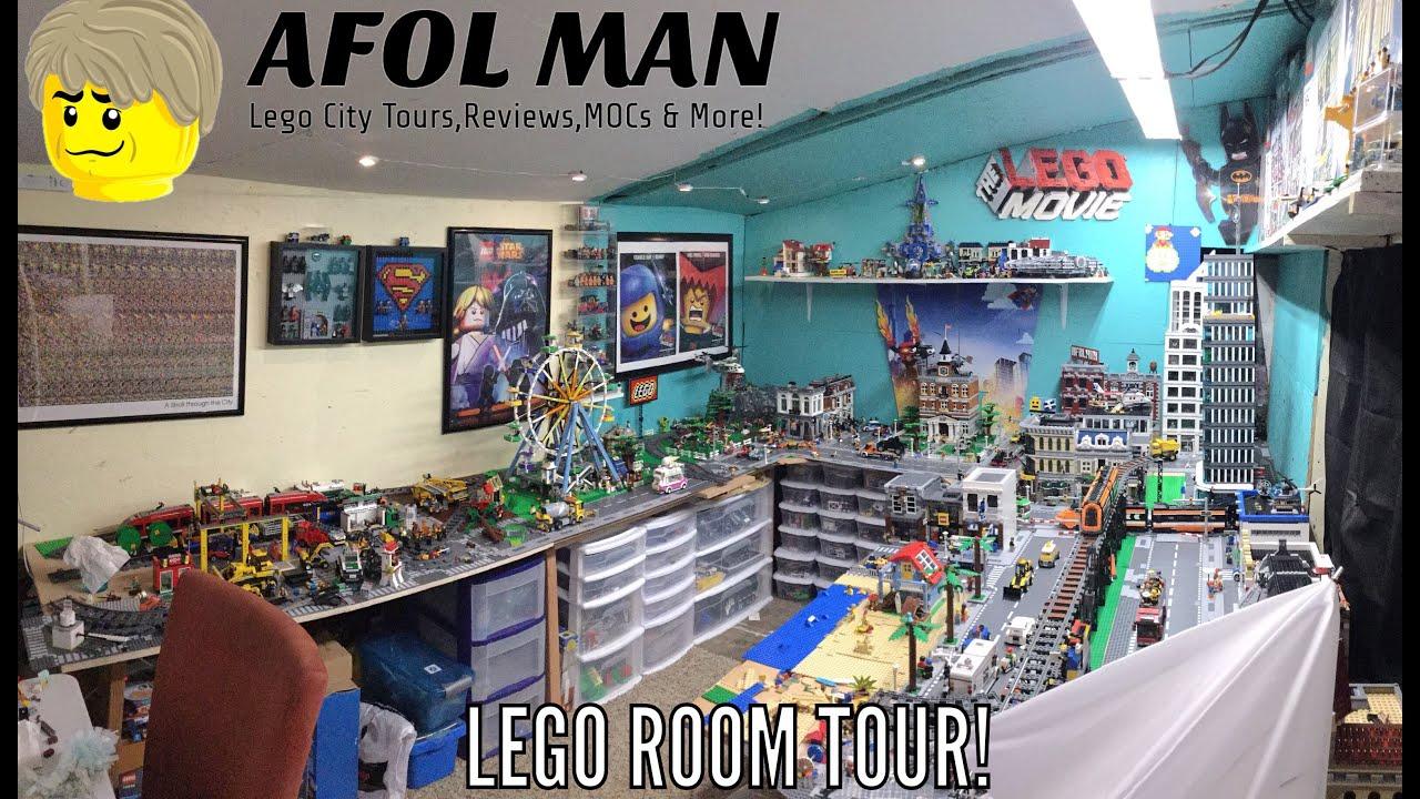 Lego Room Tour Youtube