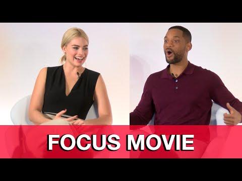 Will Smith & Margot Robbie Interviews - Focus Press Conference