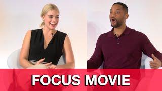 Video Will Smith & Margot Robbie Interviews - Focus Press Conference download MP3, 3GP, MP4, WEBM, AVI, FLV September 2018