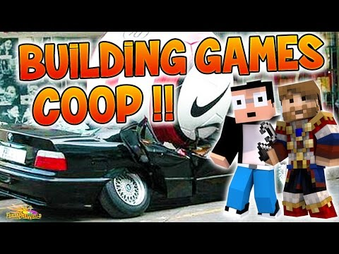 BUILDING GAMES COOP : LA MORT PAR LE SPORT ! - Fanta et Bob FBW Minecraft