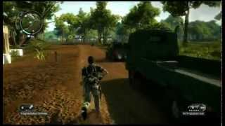 Just Cause 2 - Rico i dmuchawa do liści