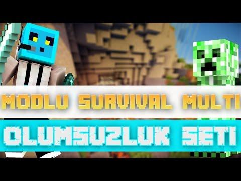 Sezon 4 Minecraft Modlu Survival Multi Bölüm 10 - Ölümsüzlük Seti