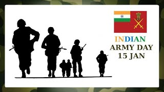 15 January 2021 Indian Army Day