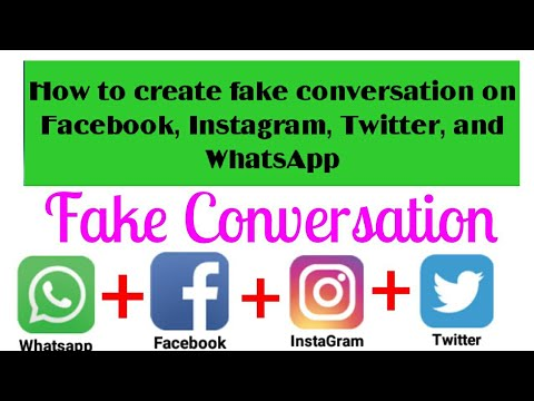 fake fb messenger chat how to make fake facebook messages