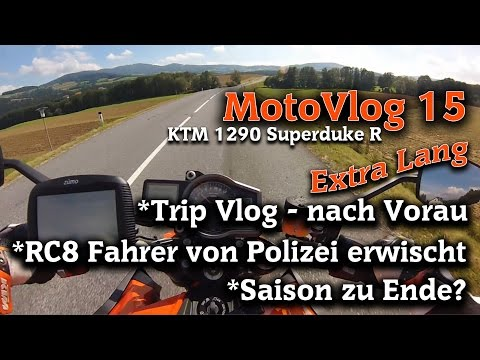 ►KTM 1290 Superduke R│MotoVlog 15 [German]