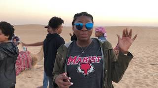 YBW Co-Founder Chidera Udeh on desert safari in Abu Dhabi