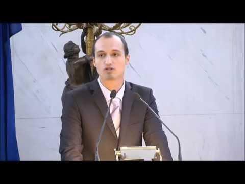 Youth Unemployment in Greece ✔ Spyros Mallios - Speech @ Athens Democracy Forum 2015