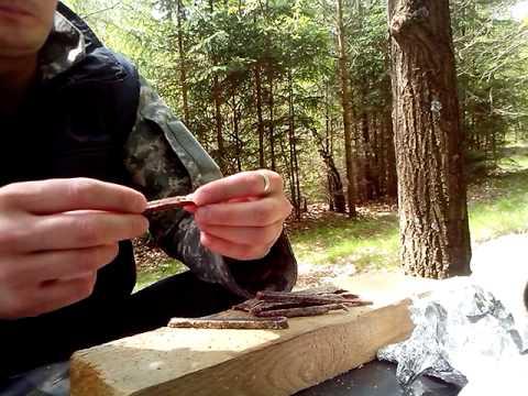 Копия видео Вяленое мясо косули