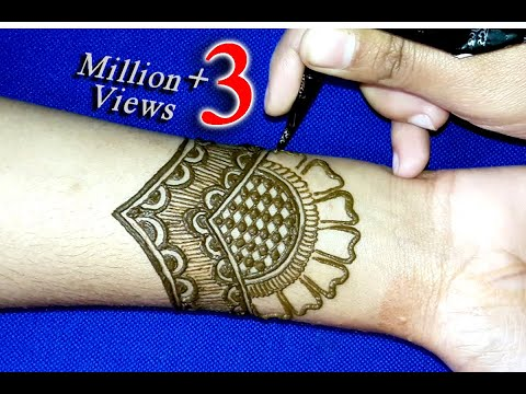 Easy Arabic mehndi designs for hands ||Mehndi Designs ||mehendi ||Latest mehndi designs