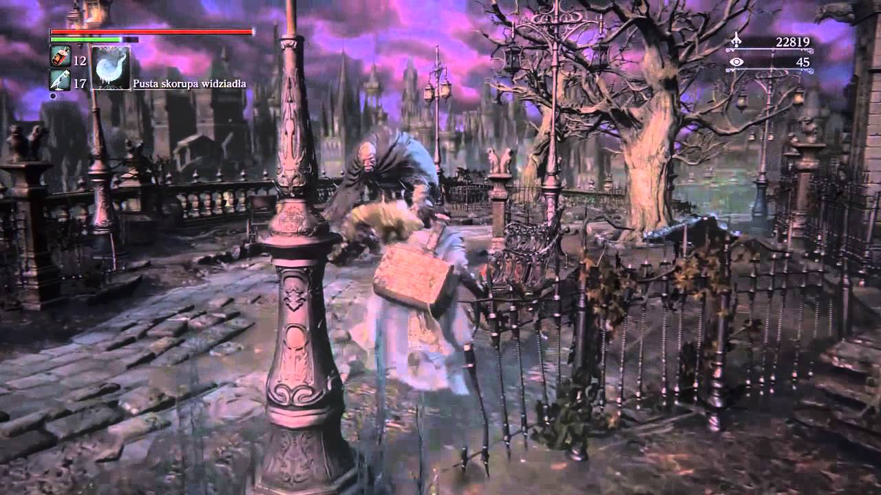 Bloodborne How To Open Cathedral Ward Locked Door