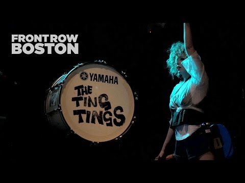Front Row Boston | The Ting Tings – Shut Up And Let Me Go (Live)