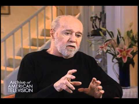 "George Carlin on why ""It's important not to give a shit"" - EMMYTVLEGENDS.ORG"