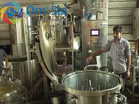 yarn dyeing machine working