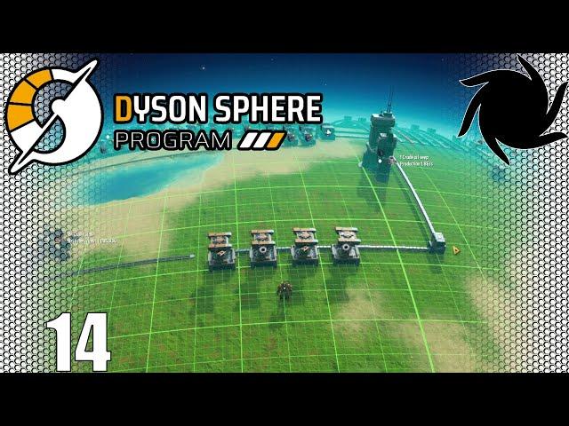 Dyson Sphere Program - Rebuilding Some Production Lines