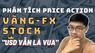 ✅Phân Tích VÀNG-FOREX-STOCK Theo Price Action - USD Là Vua - 21/3 | TraderViet