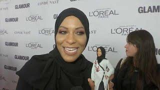 Une Barbie voilée en l'honneur de l'escrimeuse américaine Ibtihaj Muhammad
