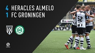 Heracles Almelo - FC Groningen | 21-10-2018 | Samenvatting