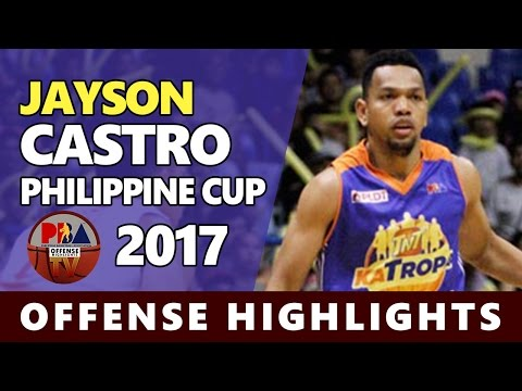 Jayson Castro (Best PG in ASIA) | Offense Highlights 2016/2017 (Part 1) ᴴᴰ