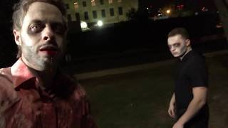 Filming a Zombie prank with Lance Stewart!