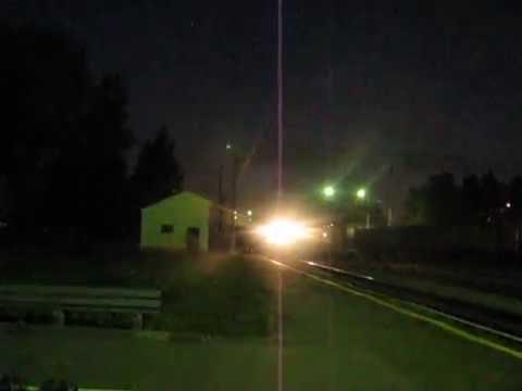 Пассажирский поезд № 610 Екатеринбург-Устье-Аха