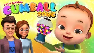 Gumball Machine Song | Learn Colors | Videogyan 3D Rhymes | Nursery Rhymes For Babies