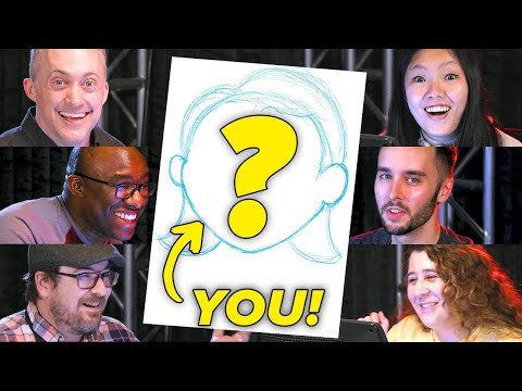 We Draw Your Profile Pictures • Live Stream