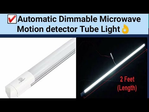 💥(hindi)-auto-dimmable-tube-light-review-|-motion-detector-light-of-blackt-electrotech