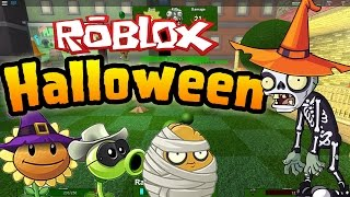 Roblox: Plants vs Zombies! - Halloween Update