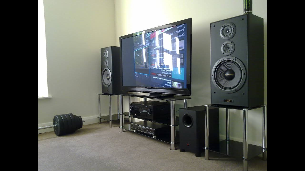 Pioneer Home Cinema System Cs 7070 Vsx 1021k Youtube