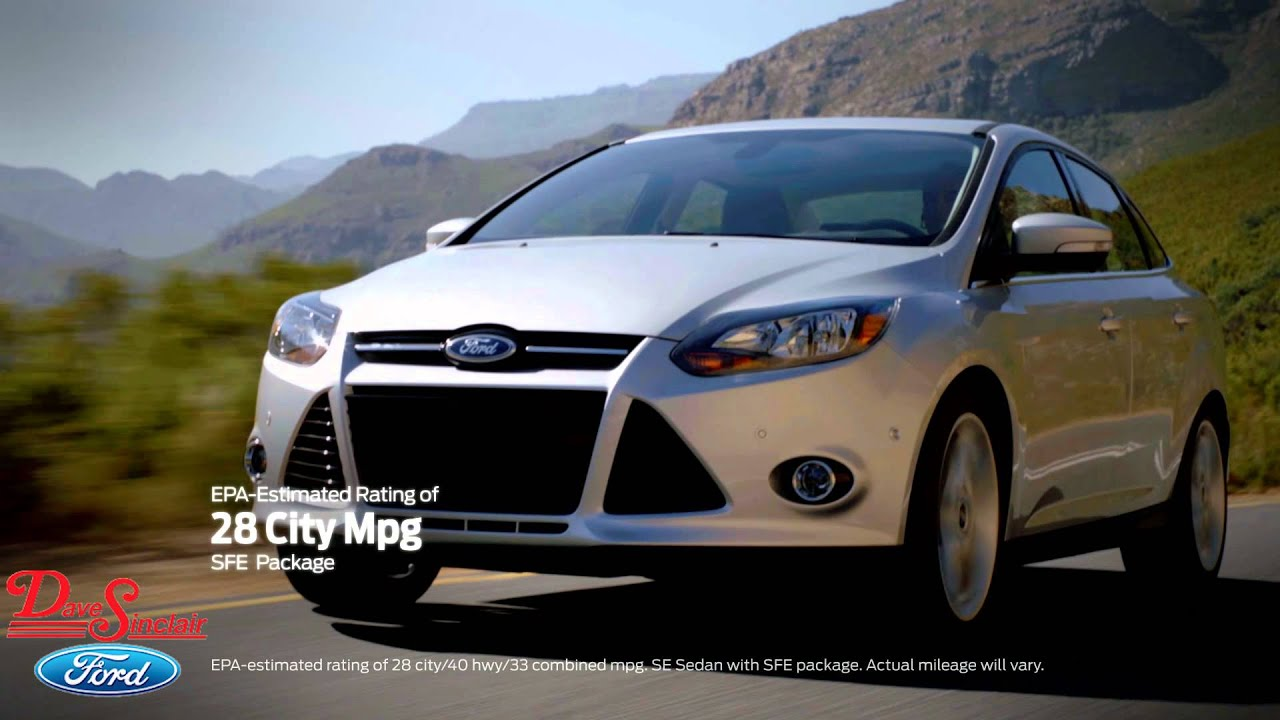 Ford focus great gas mileage at dave sinclair ford