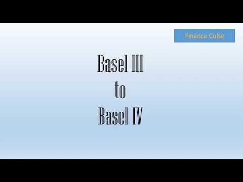Basel III to Basel IV   Summary of the regulations   CAR   CRAR   Market, Credit & Operational RWA