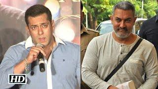 Salman REACTS to Aamir