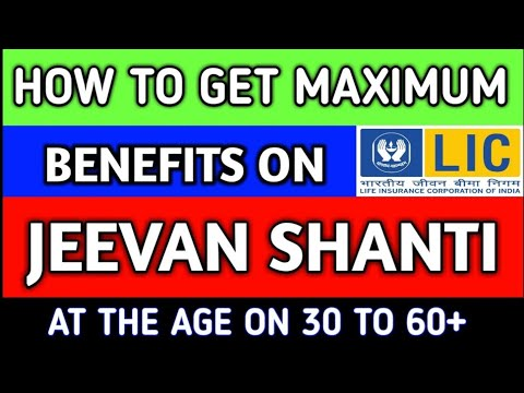 How To Get Maximum Benefits of Jeevan Shanti (850)!How To Create Great Fund From A Pension Plan!