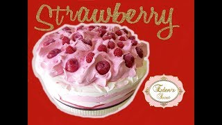 Strawberry Soap Cake