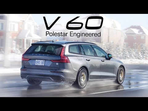 2020 Volvo V60 T8 Polestar Engineered - Turbocharged, Supercharged, Hybrid Performance Wagon