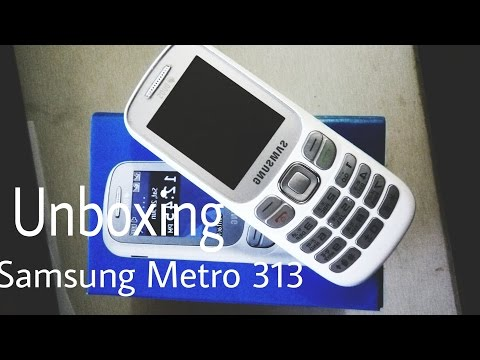 Samsung Metro 313 DUOS || Mobile unboxing review || Feature Phone || HINDI