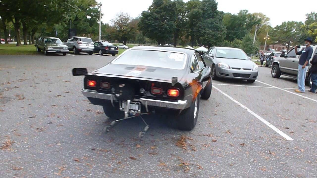 Monster Chevy Vega Drag Car Parking - YouTube