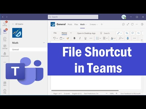 How to Quickly Turn a File Into a Tab in Microsoft Teams   File Shortcut in Teams   #microsoftTeams
