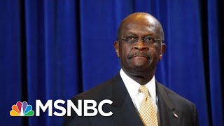 Former Presidential Candidate Herman Cain Dies Of Coronavirus   Hallie Jackson   MSNBC