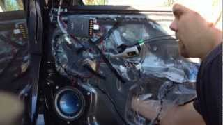 HOW TO INSTALL A 4 CHANNEL CAR AUDIO AMPLIFIER FOR A 2009 - 2013 TOYOTA COROLLA