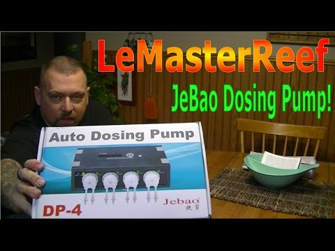 coralbox wf 04 wifi dosing pump doser review unboxing and tutorial