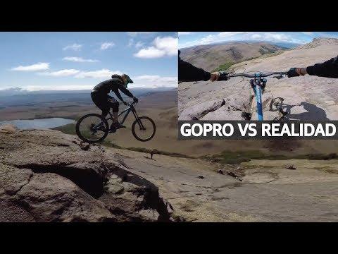 GoPro vs Realidad - La frustración de los mountain bikers con las cámaras de acción!