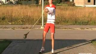Canadian Hammer Throw Fail