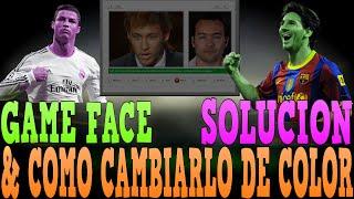 FIFA 16 - GAME FACE - SOLUCIONES Y CAMBIARLO DE COLOR