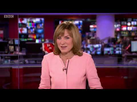 BBC's Fiona Bruce can hardly contain her excitement at news of Trump visit to UK