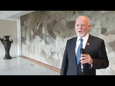 UN-Oceans meeting - Interview with Peter Thomson