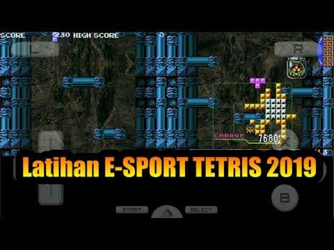 Cara Download Dan Pasang Tetris Di Android, Latihan ESport Tetris 2019, Review Game Aneh