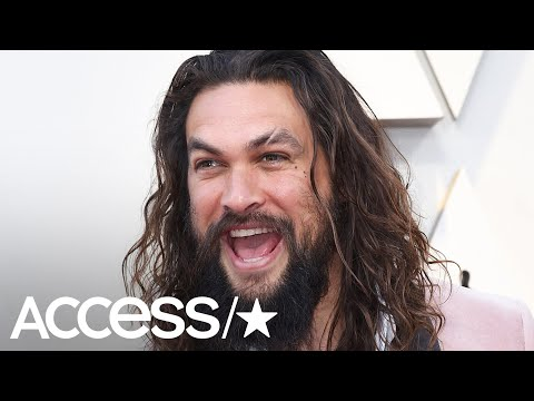 Walter Brown - Jason Momoa shave his beard. First time in 7 years.
